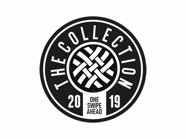 The Collection Black and White Sticker
