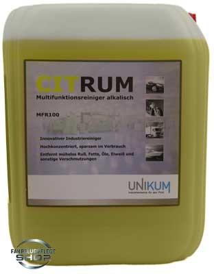 Unikum Citrum - Multifunktionsreiniger alkalisch APC 10L