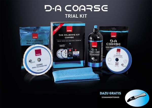 Rupes D-A Coarse Trial Kit