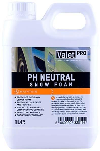 ValetPRO PH Neutral Snow Foam 1000ml