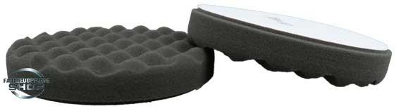 Unikum Polierschwamm Waffled Pad Black 160mm