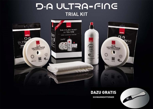 Rupes D-A UltraFine Trial Kit