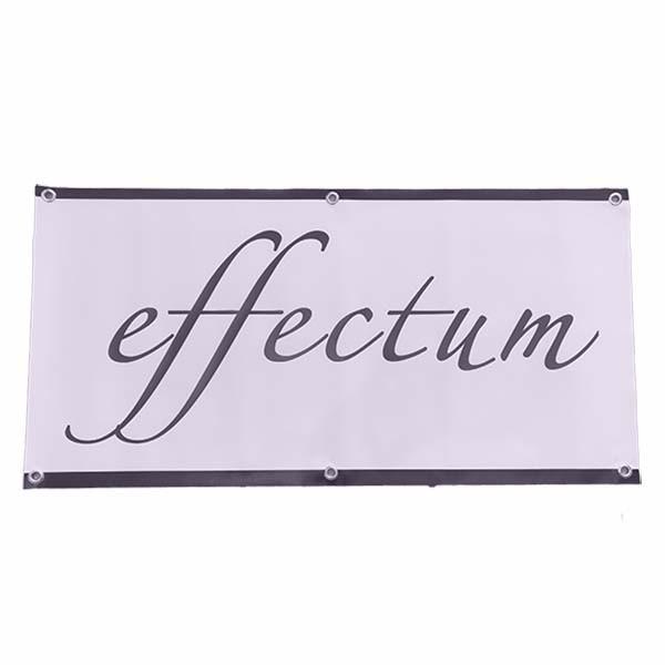 Effectum Werkstatt Banner 100 x 50cm