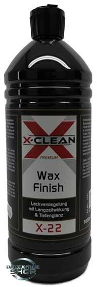 X-Clean Wax Finish